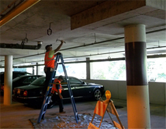 Parking structure repair