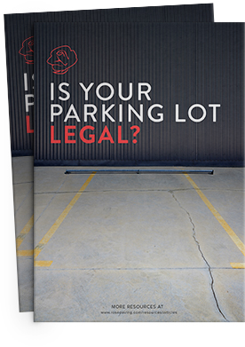 Is your parking lot legal