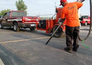 Rose Paving Crack Sealing