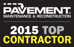 rose paving awarded 2015 top contractor image