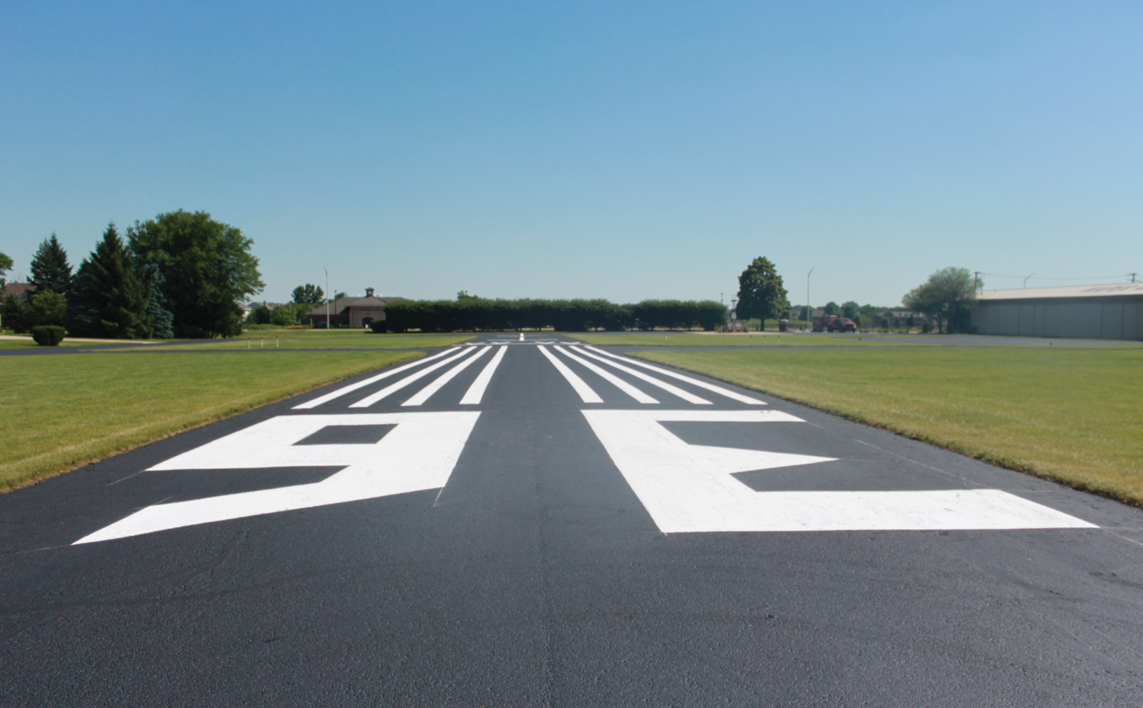 naper aero club runway repair and restoration