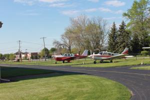 naper aero club runway before picture