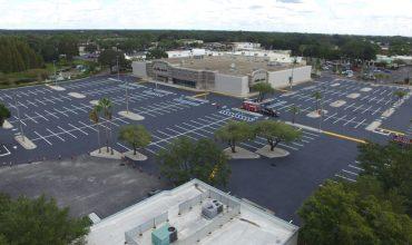 parking lot repair and striping