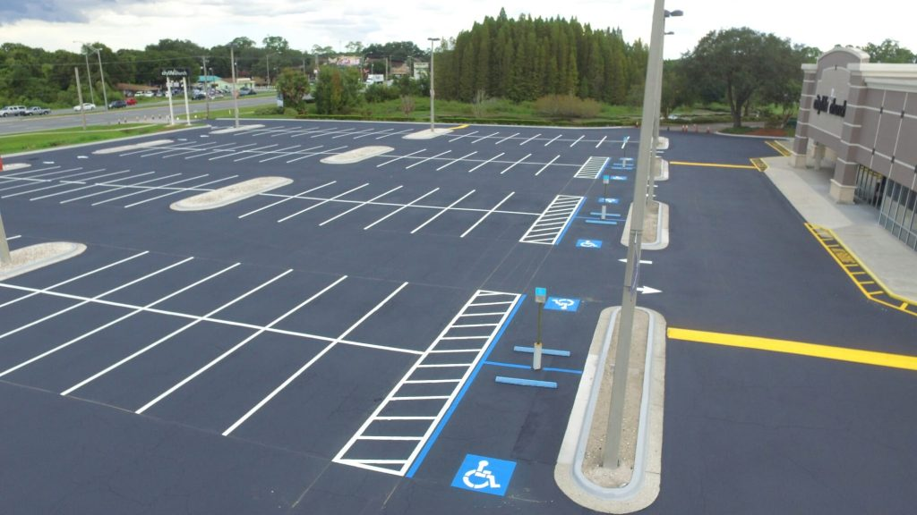 Tampa church completed parking lot repair
