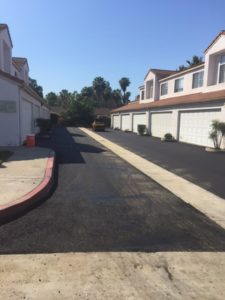HOA paving project after photo 1