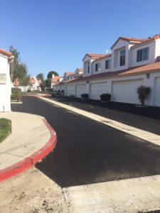 HOA paving project after photo 2