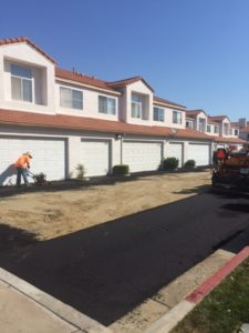 HOA paving project after photo 3