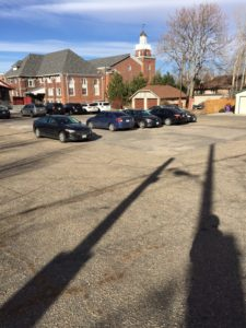 Rose Paving Denver Church Lot Before 2