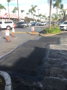 after infrared asphalt repair 1