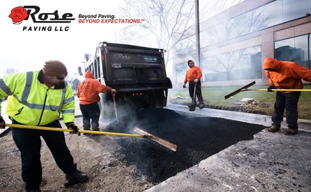Asphalt paving repair lifecycle