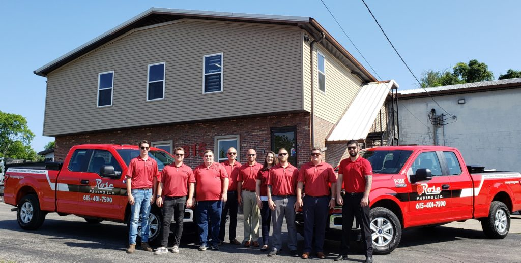 Rose Paving LLC Nashville Team
