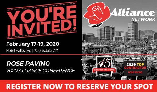Rose Paving Alliance Conference 2020