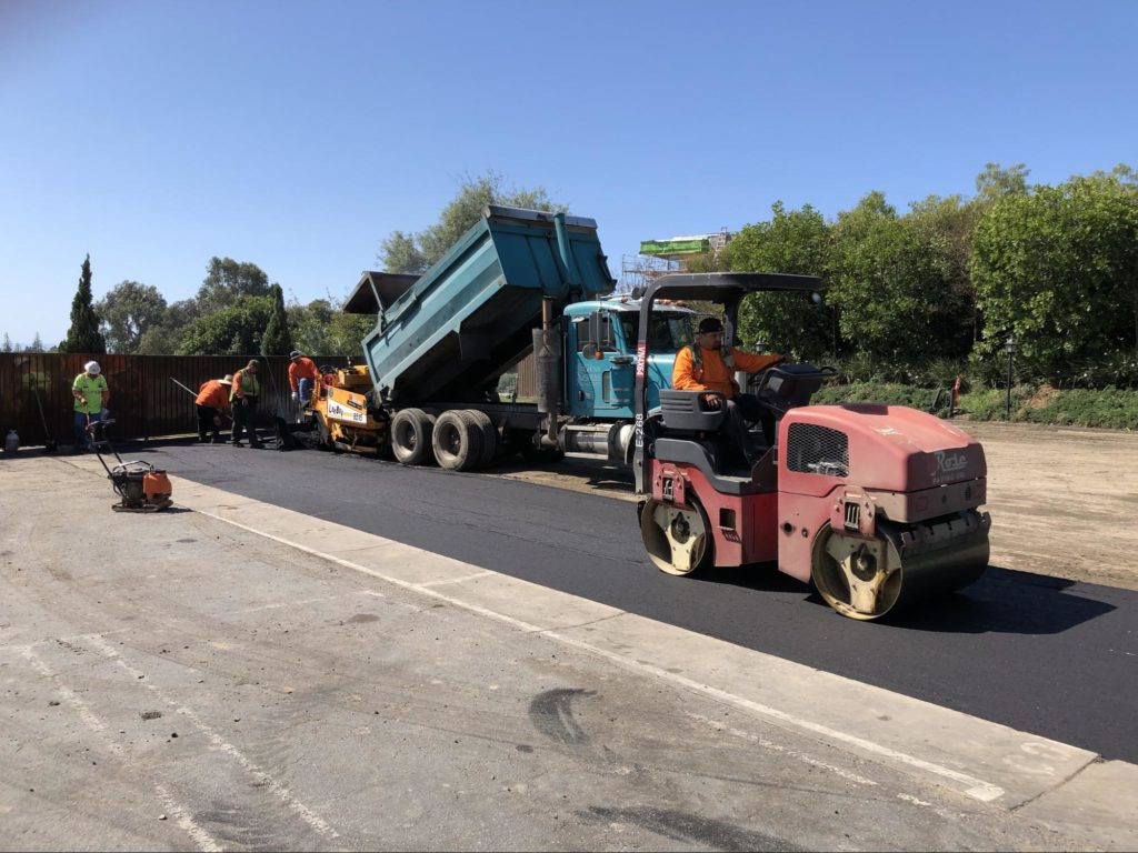 Rose Paving's experts make sure your parking lot makes the grade