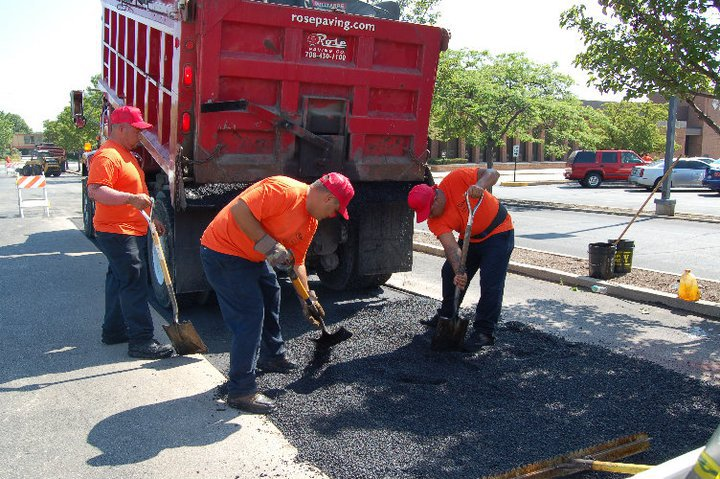 Rose Paving's expert crews get the job done