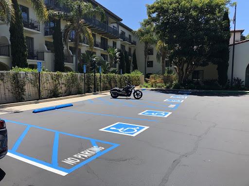 Rose Paving California parking lot striping ADA compliance